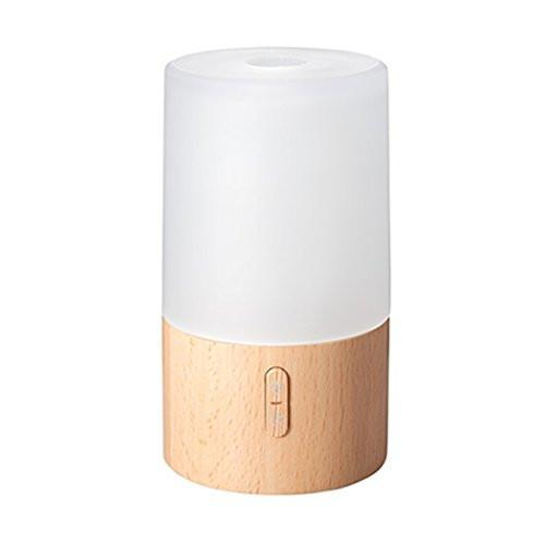 90ml Frosted Glass and Wood Essential Oil Diffuser