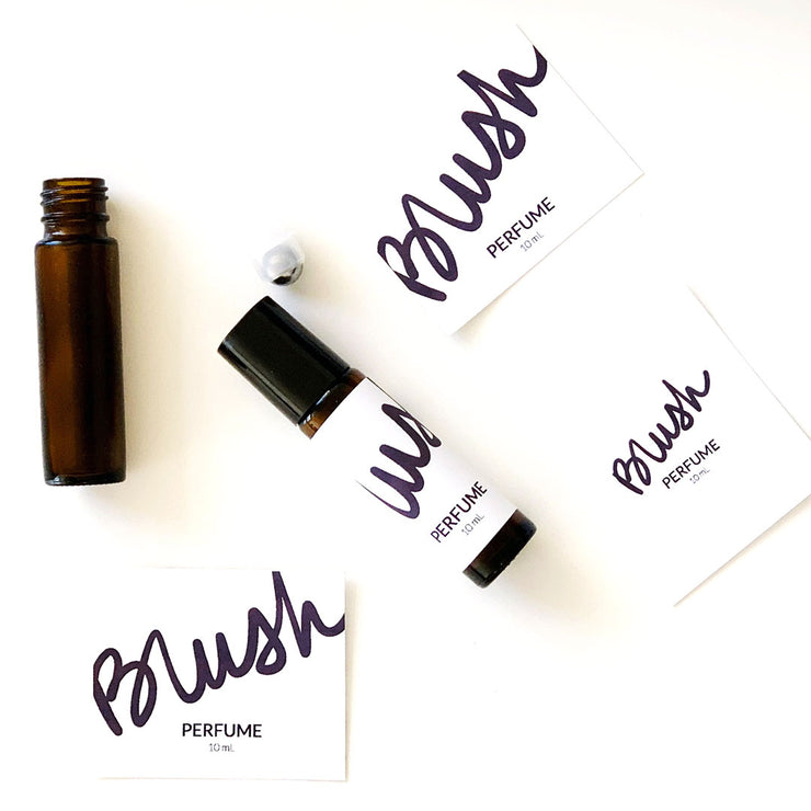 Blush | Perfume Labels & Gift Packaging