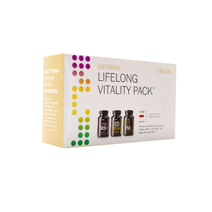 dōTERRA Vegan Lifelong Vitality Pack