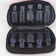 Black Microfiber Essential Oil Travel Case