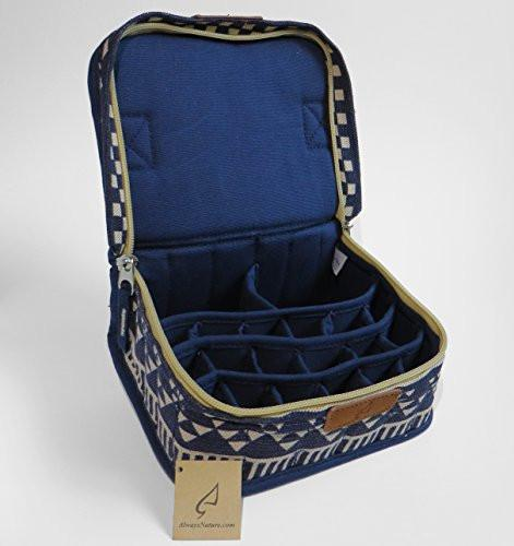 Blue Hemp Essential Oil Carrying Case