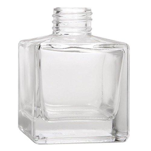 Clear Glass Reed Diffuser Bottles 4 Pack I Heart Oils