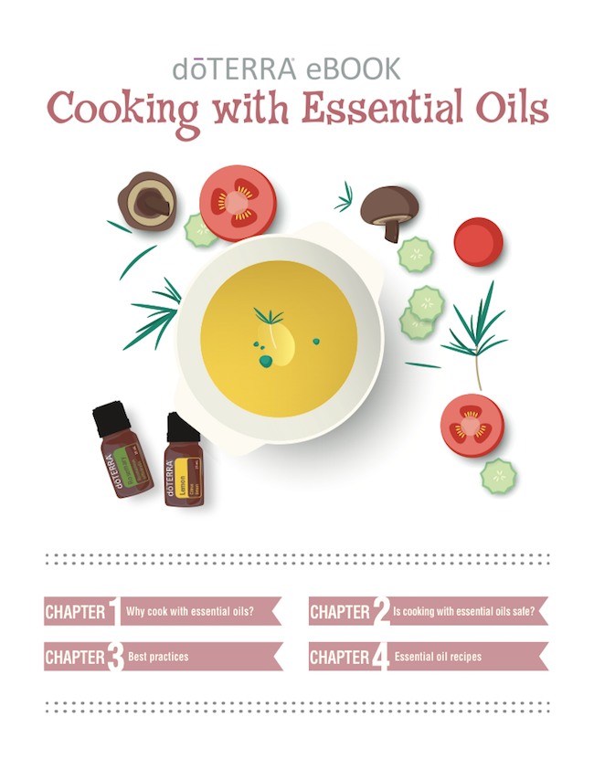 Cooking with Essential Oils E-Book