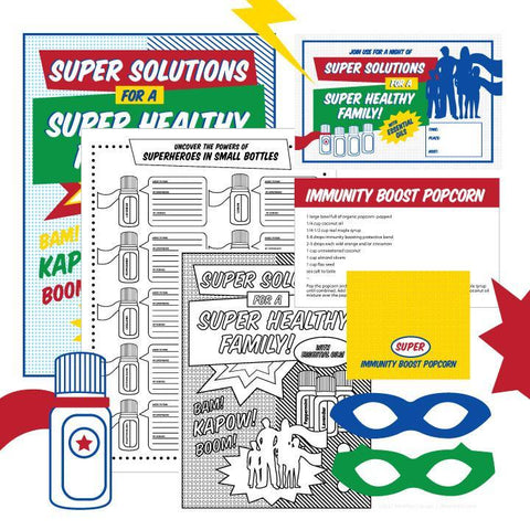 Super Family Health Class Kit