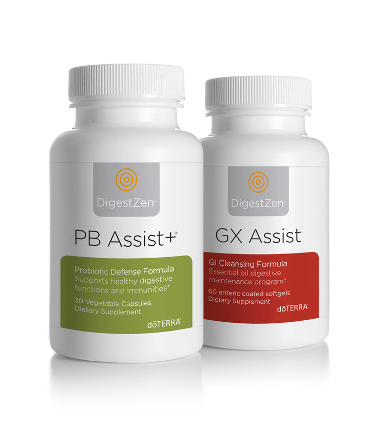 dōTERRA Cleanse & Renew GX Assist® & PB Assist+®