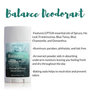 dōTERRA Natural Deodorant with Balance Blend