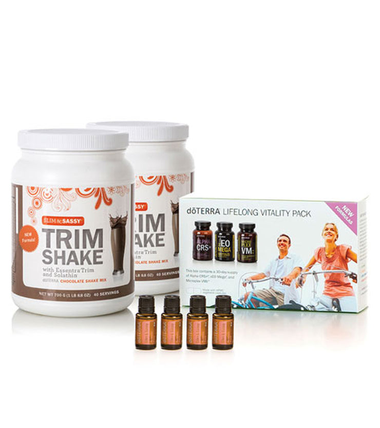 dōTERRA Slim & Sassy New You Kit (2 Chocolate)