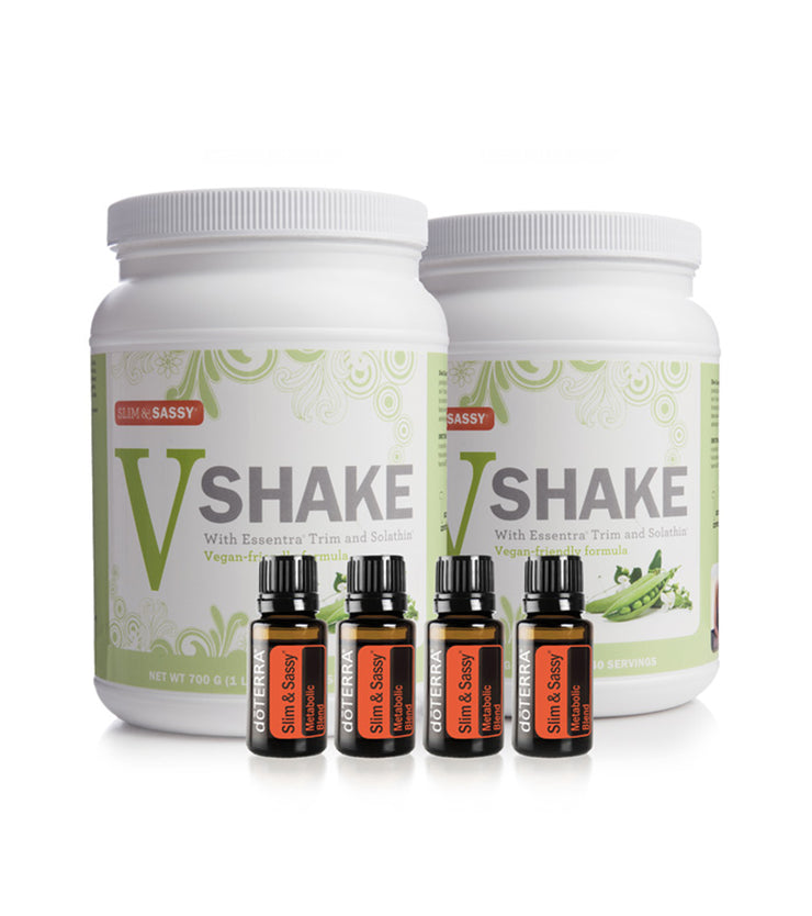dōTERRA Slim & Sassy Trim Kit (2 Vegan Shakes)