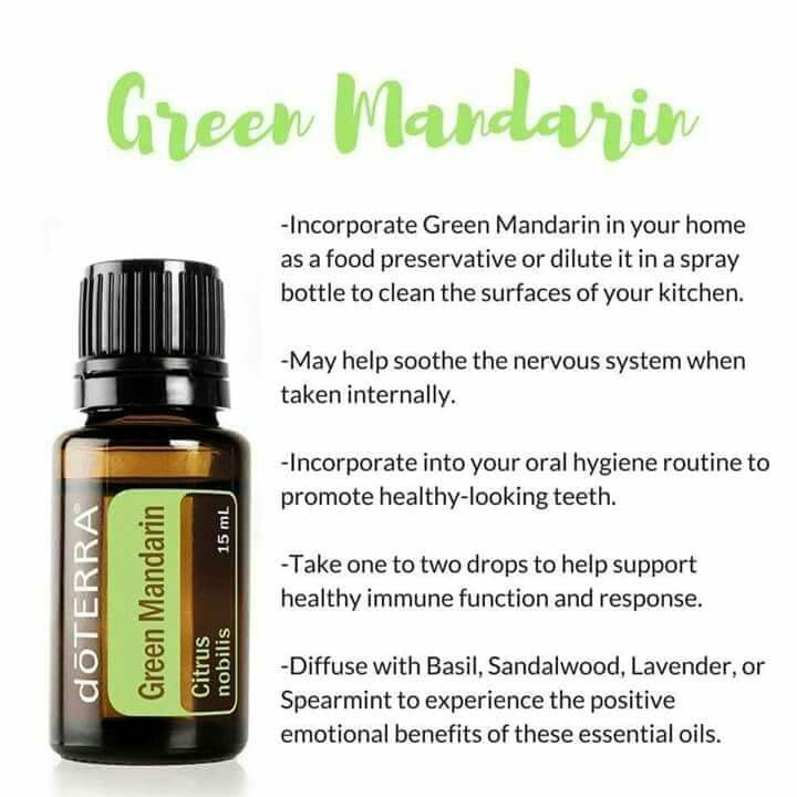 Green Mandarin Essential Oil | Citrus nobilis