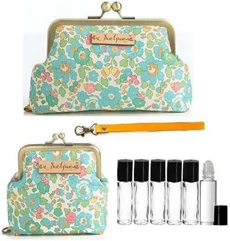 Floral Essential Oil Carrying Case