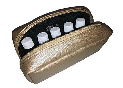 Gold Essential Oil Carrying Case