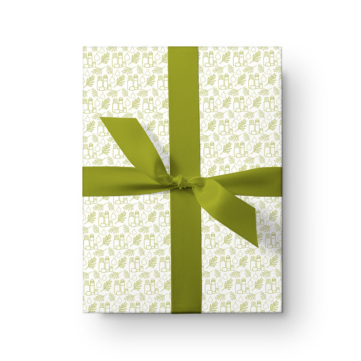 Bottles & Leaves Wrapping Paper Pack