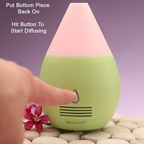 Mini Pink Essential Oil USB Diffuser