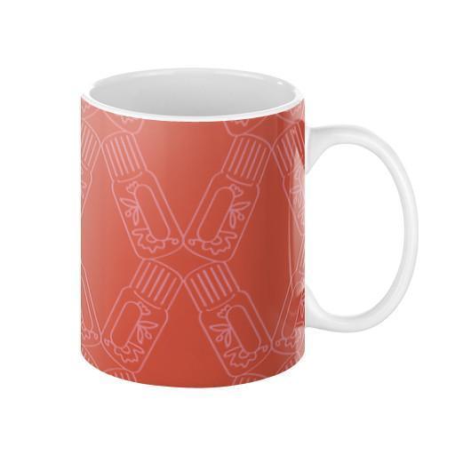 Mug 11oz Bottle Lattice Mug