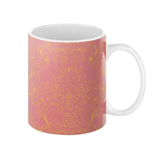 Mug 11oz Essential Bouquet- Pink Mug