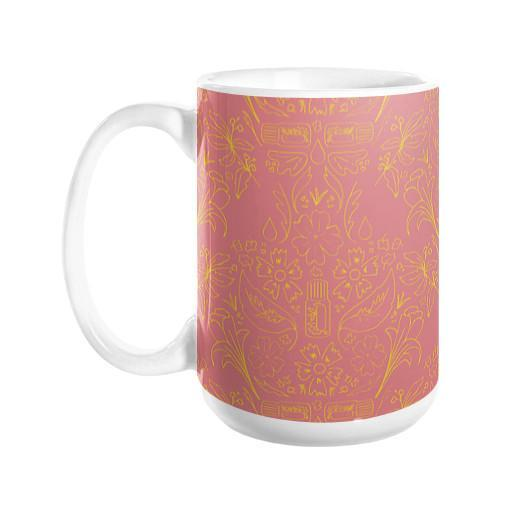 Mug Essential Bouquet- Pink Mug