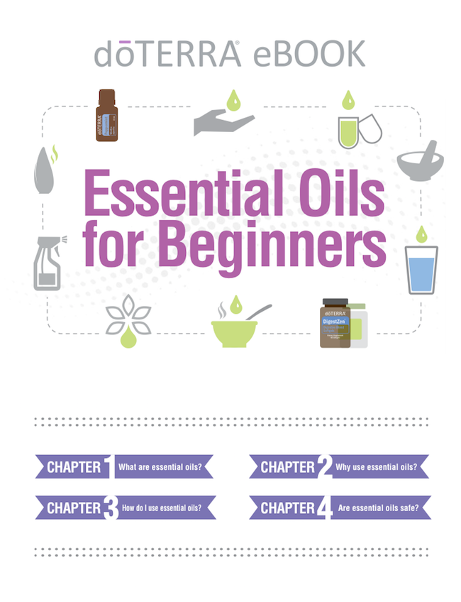 Essential Oils for Beginners E-Book