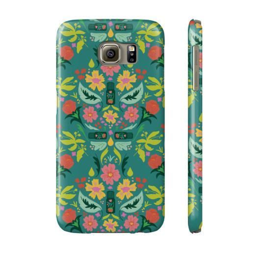Phone Case Slim Galaxy s6 Essential Bouquet Phone Case