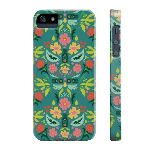 Phone Case Slim iPhone 5/5s/5se Essential Bouquet Phone Case