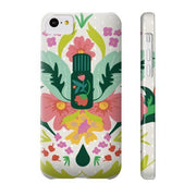 Phone Case Slim iPhone 5C Essential Bouquet- Tan Phone Case