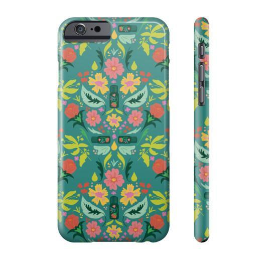 Phone Case Slim iPhone 6S Essential Bouquet Phone Case