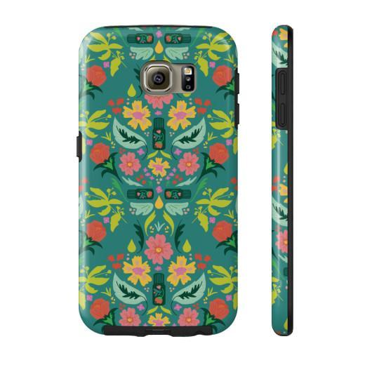 Phone Case Tough Galaxy s6 Essential Bouquet Phone Case