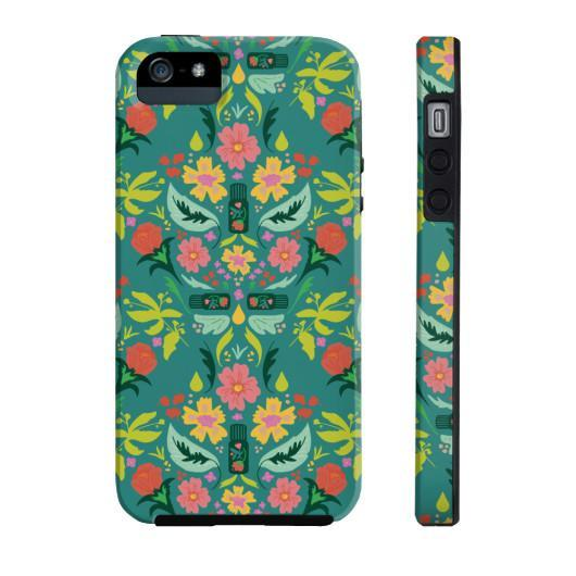Phone Case Tough iPhone 5/5s/5se Essential Bouquet Phone Case