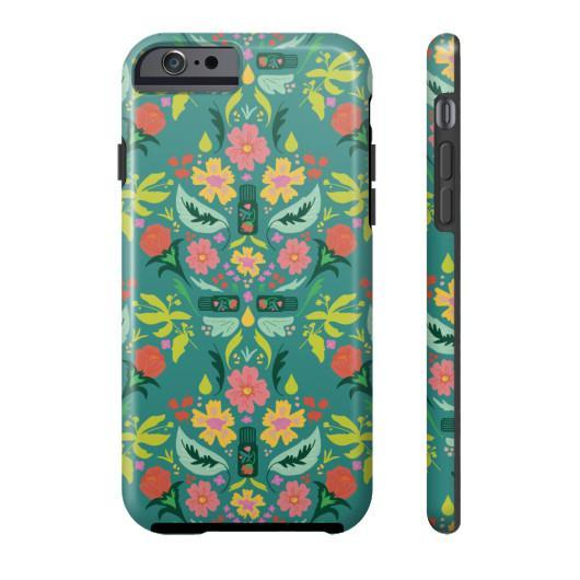 Phone Case Tough iPhone 6S Essential Bouquet Phone Case