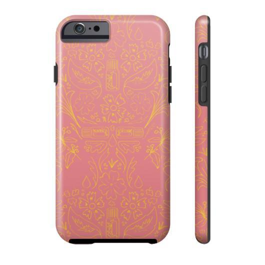 Phone Case Tough iPhone 6S Essential Bouquet- Pink Phone Case