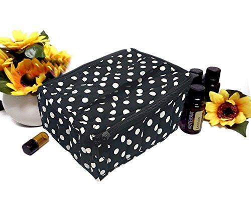 Polka Dot Essential Oil Carrying Case