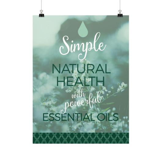 Poster 18x24 Simple Natural Vertical Poster