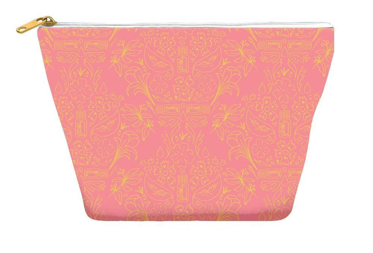 Pouch 12.5x8.5 inch / T-bottom Essential Bouquet Pouch- Pink