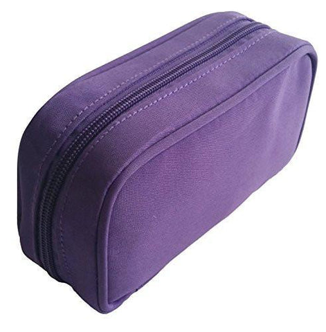 Purple Microfiber Essential Oil Travel Case