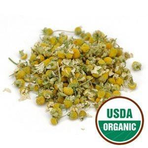 Starwest Botanicals Organic Chamomile Flower Whole (Egypt), 1 Pound