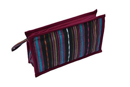 Striped Essential Oil Travel Bag