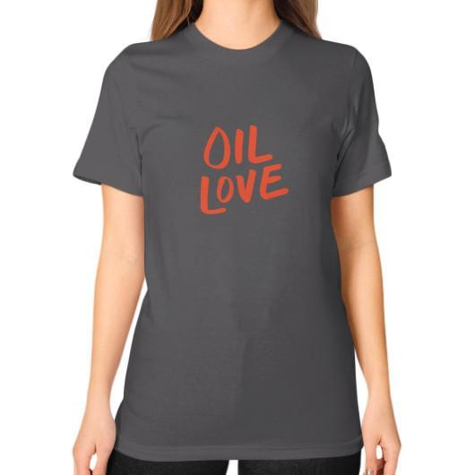 T-Shirt S / Asphalt Oil Love Unisex T-Shirt