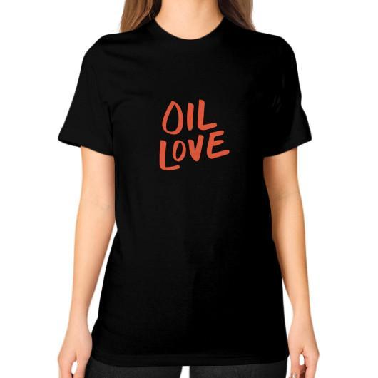 T-Shirt S / Black Oil Love Unisex T-Shirt