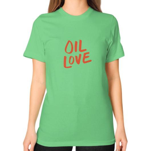 T-Shirt S / Grass Oil Love Unisex T-Shirt