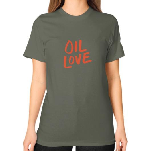 T-Shirt S / Lieutenant Oil Love Unisex T-Shirt