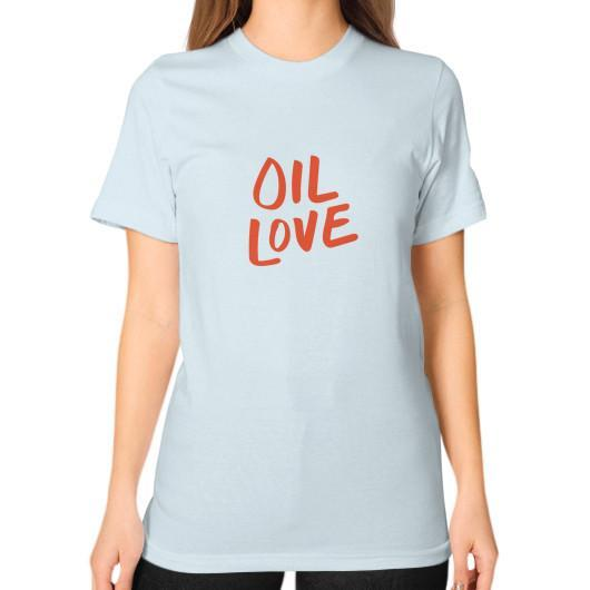 T-Shirt S / Light blue Oil Love Unisex T-Shirt