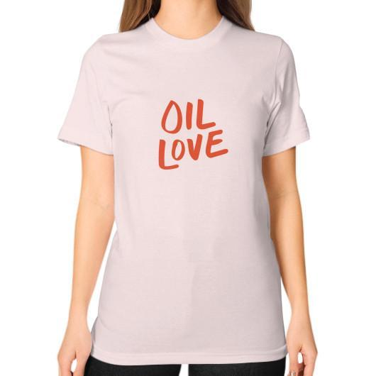 T-Shirt S / Light pink Oil Love Unisex T-Shirt