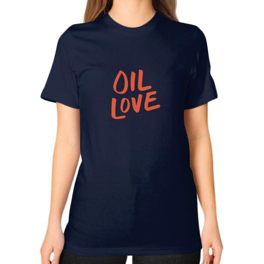 T-Shirt S / Navy Oil Love Unisex T-Shirt