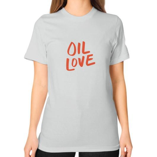 T-Shirt S / Silver Oil Love Unisex T-Shirt
