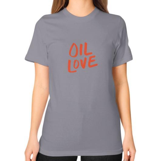 T-Shirt S / Slate Oil Love Unisex T-Shirt