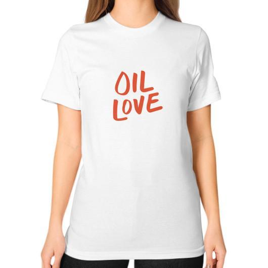 T-Shirt S / White Oil Love Unisex T-Shirt