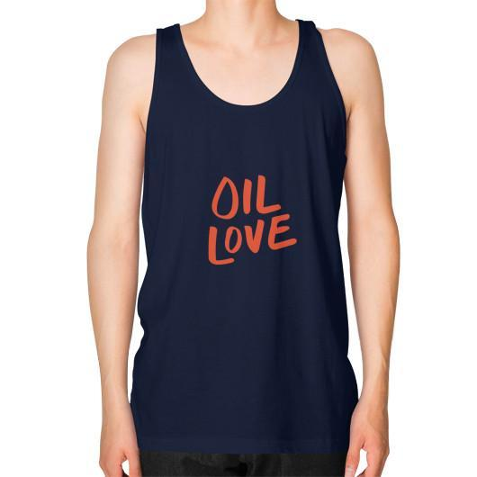 Tank Top XS / Navy Oil Love Unisex Fine Jersey Tank