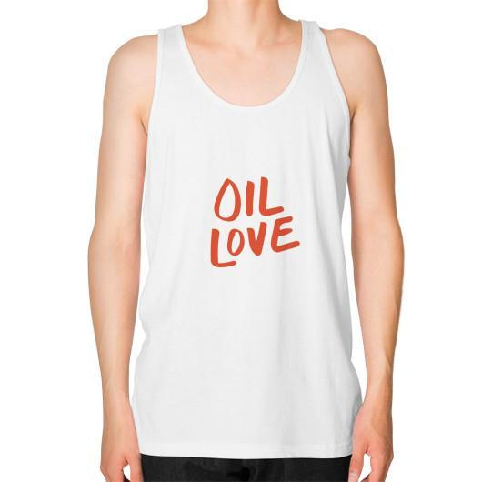Tank Top XS / White Oil Love Unisex Fine Jersey Tank