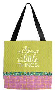 Tote Bag 18x18 inch Little Things Tote