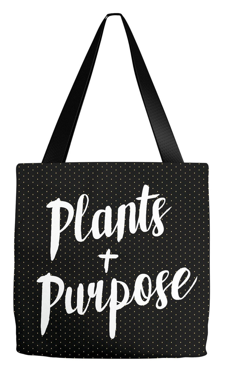 Tote Bag 18x18 inch Plants & Purpose Tote Bag
