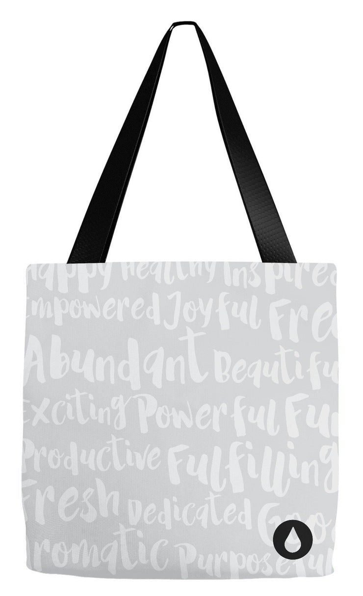 Tote Bag 18x18 inch The Essential Life Tote Bag